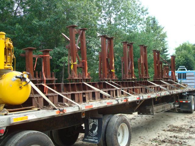 Steel Steel I-Beams Support
