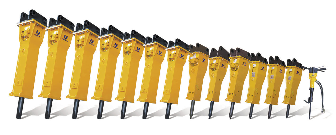 Powerful Hydraulic Breakers