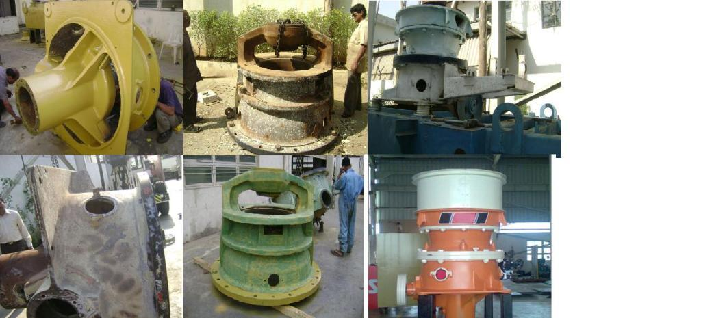 Repairing/Reconditioning Of Cone Crusher