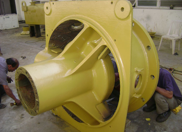 Reconditioning of Vertical shaft Impactor (VSI)