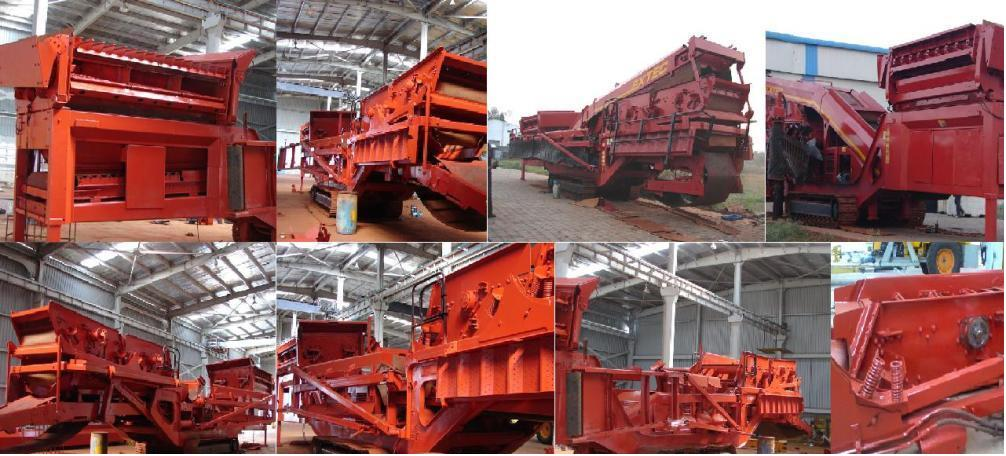 Reconditioning of Track Mounted Screening Plant