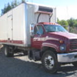 2002 GMC TOPKICK WITH NEW CAT DIESEL ENGINE PAPER WORK ON ENGINE