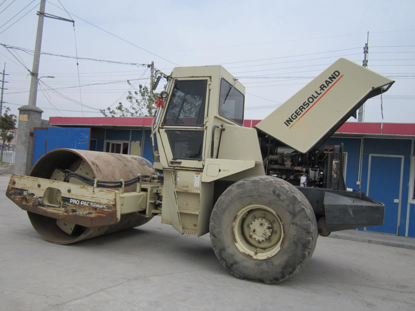 used ingersoll rand sd150d ...