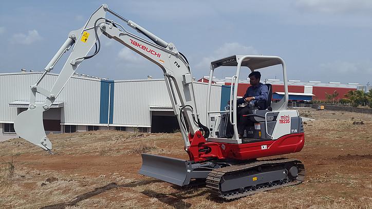 Takeuchi tb219 mini Excava...
