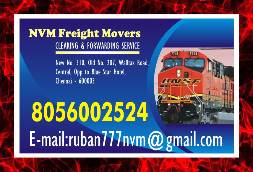 NVM Freight Movers | Chennai Central Stations